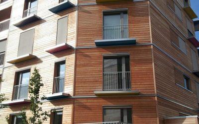 Le bois, matériaux de construction pour immeuble